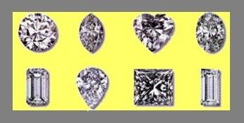 Round, Marquise, Heart, Oval, Emerald, Pear, Princess & Baguette shape Diamonds